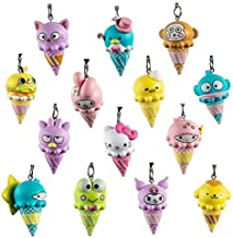 Kidrobot Hello Sanrio Ice Cream Cone Blind Box Keychain Series - One Box