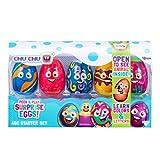 Chu Chu TV Surprise Eggs Peek & Play SORPRESO Huevos-ABC Starter Set, Multicolor...
