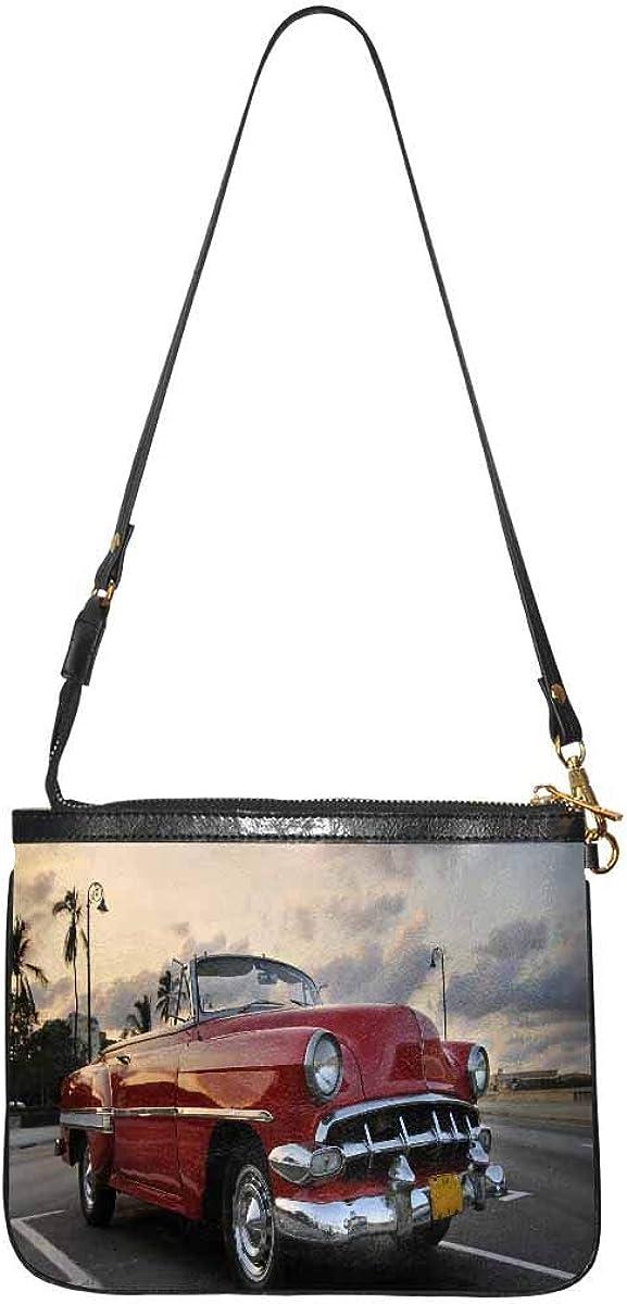 InterestPrint Now free shipping Women's Lightweight Purse Bombing free shipping and Leather Handbag S PU