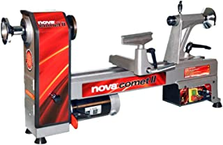 "Nova 71118 Comet II - Midi Lathe Flexible Woodworking System, 12"", Powerful Electronic 3/4 HP variable speed"