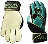 Under Armour Boys' Youth ArmourSpine Keeper Gloves, Teal Punch (594)/Black, 6