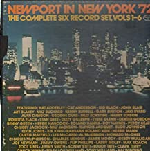 Newport in New York '72 - The Complete Six Record Set, Vols 1- 6 - Vintage vinyl records Boxed Set