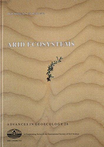 Arid Ecosystems (Advances in GeoEcology)