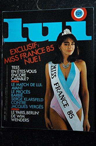 LUI 253 DUNE MISS FRANCE 1985 INTEGRAL NUDE PENTHOUSE 205 TURBO ALPINE...