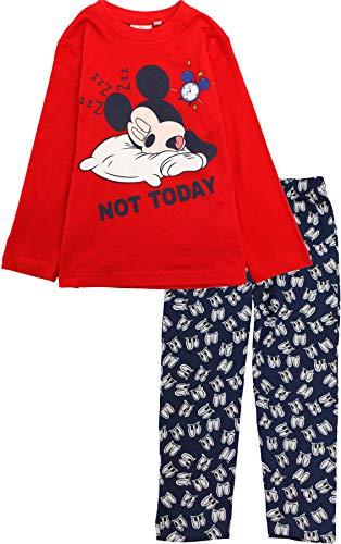 Disney Mickey Mouse Boys Not Today - Pijama de manga larga