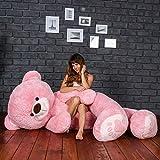 AVS Hugable Stuffed Spongy Cute Soft Teddy Bear (7 Feet,Pink)