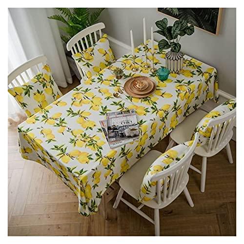 JSJJWSX Mantel de mesa rectangular con estampado impermeable, para decoración de fiestas en el hogar (color: 4, especificación: 135 x 200 cm)