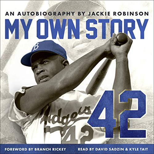 My Own Story Audiobook By Jackie Robinson cover art