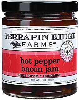 Terrapin Ridge Farms Hot Pepper Bacon Jam 11 OZ (Pack of 6)