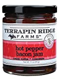 SPICY BACON COMBO: Roasted red pepper puree, jalapeno peppers, and real bacon combine to create an addictive jam. APPETIZER AND DIP: For a quick appetizer, pour over cream cheese and serve with crackers. Use straight out of the jar as a dip. Pairs pe...