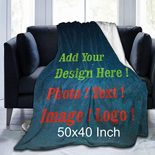 Custom Blanket Personalized Blan...