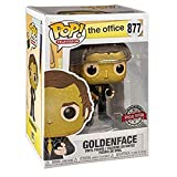Funko Pop Television : The Office - Jim Halpert as Goldenface (Exclusive) 3.75inch Vinyl Gift for TV...
