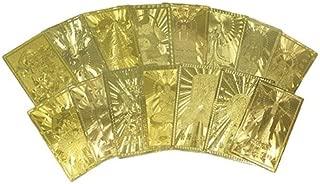 第2段 全16種類 開運祈願 ゴールドカード護符 開運カード 護符 D:財神到