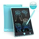 Arolun Tablet LCD da 8.5 Pollici, Display Colorato, Blocco Note Elettronico per Bambini e Adulti (Azzurro)