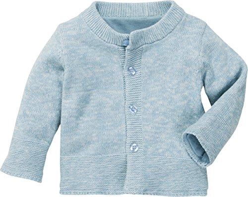 Schnizler Baby-Unisex Erstlingsstrickjacke Strickjacke, Blau (Bleu 17), 56