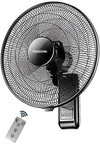 Ventilador de montaje en pared - Hogar Sacudida Cabeza Ventilador Restaurante Control remoto Industrial Ventilador de pared Ventaje de aire grande Volumen de aire de gran angular de 18 pulgadas Ventil