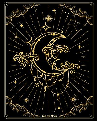 notebook journal Sun and Moon: Celestial Design journal Blank Lined Journal Diary Notebook