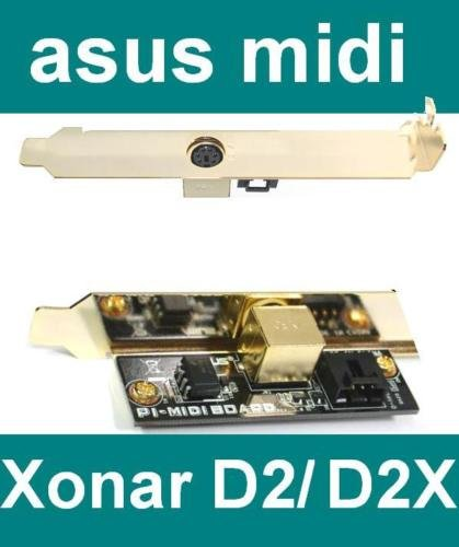 Generic YC-AMD2-151014-47 <7&1227*1> NEU OVPonar Soundk f¨¹r Xonar Zubeh?r Asus Soundkarte D2 + DX + D2X PI-Midi Karte Midi-Board NEU OVP Zubeh?r Asu