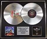 JUDAS PRIEST/DOPPO CD PLATINO DISC RECORD/Edizione LTD/Certificato di autenticità/PAINKILLER & ANGEL OF RETRIBUTION