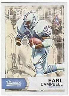 2016 Panini Classics Legends #192 Earl Campbell Oilers