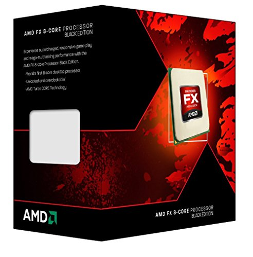 AMD 8350 AMD FX 8350 Black Edition, Vishera, 8 Core, AM3+, 4,0 GHz, 16 MB Total