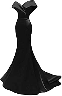 alilith.Z Women's Off The Shoulder Mermaid Prom Dress Long Evening Dress
