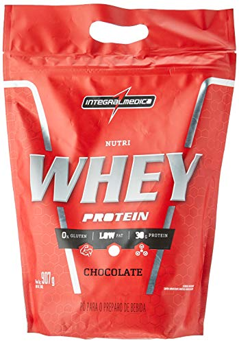 Nutri Whey Protein 907G Chocolate Refil - Integralmedica