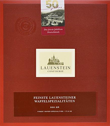 Lauenstein Confiserie Lauensteiner Waffelspezialitäten 500 g, 1er Pack (1 x 500 g)