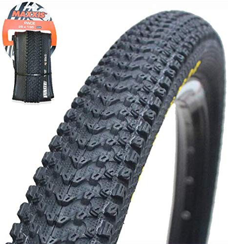 【US Stock】 MAXXIS M333 26/27.5/291.95/2.1 Fold/Unfold MTB Tires 60TPI Bicycle Wheel Clincher Tire, Non-Slip Anti-Puncture Resistant Flimsy Mountain Bike Wire Bead Tyre (600184-261.95-F-Puncture)