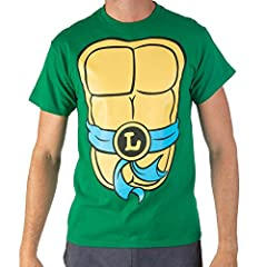 Officially licensed TMNT apparel Dress like the TMNT with these fun costume tees! Regular adult men's sizes 100% cotton