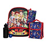 Boys 5PC Toy Story Licensed Backpack and Lunch Set