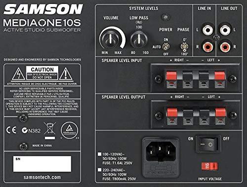 Samson mediaone10s–mediaone 10S subwoofre actiovo