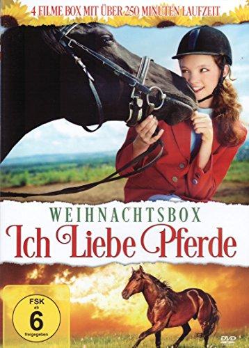 Ich liebe Pferde ( Weihnachten Box ) ( 4 Filme: Das vergessene Pferd - Das letzte Einhorn kehrt zurück - Pferde - Auf dem Reiterhof )