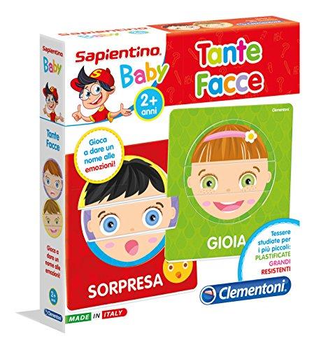 Clementoni 11957 - Gioco educativo Tante Facce, Multicolore