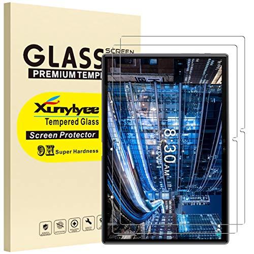 XunyLyee [2 Piezas] Protector de Pantalla Compatible Con TYESTEL T5, 2.5D Cristal Templado Film para YESTEL T5 de 10 Pulgadas