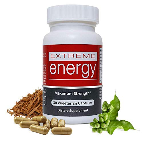 Extreme Energy Pills That Really Work - Fast Acting, No Crash Energy Supplements - Fight Fatigue, No Crash,