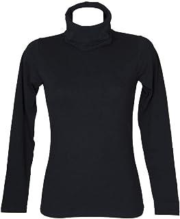 SG Dolcevita ciclista donna maglia manica lunga caldo e soffice cotone bio RAGNO