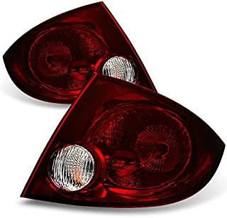 For Chevy Cobalt 4Dr Sedan Dark Red Tail Lights Brake Lamps Replacement Left + Right Pair Set Assemly