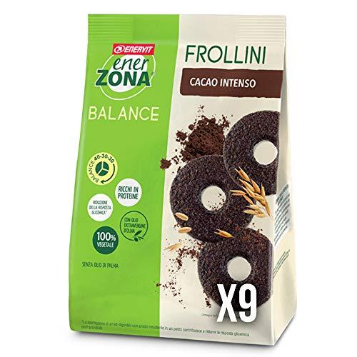 enerZONA Frollini 250g Fondente Intenso Box 9 buste