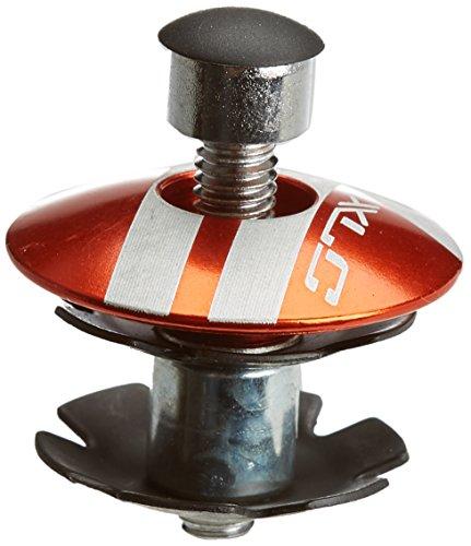 XLC Zubehör A-Head Plug Ap-s01 Alu 1 1/8 Zoll Pieces de Velo Mixte, Orange, 8 x 8 x 8 cm