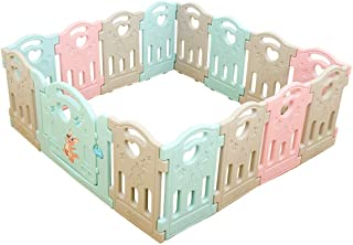 Relaxbx Plastic Baby Fence  Children S Play Fence  Home Baby Game Fence  Safe And Durable  Suitable For Indoor And Outdoor