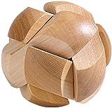 Playtastic Geduldsspiel: Geduldspiel Fußball aus Holz (Geduldsspiele Holz)