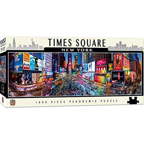Obras maestras American Vistas panorámicas Times Square Puzzle (1000Piece)