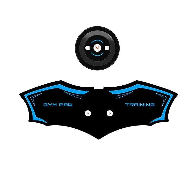 ドライブ竜巻拷問ABSトレーナーEMS筋肉刺激装置付き - USB充電式究極腹部刺激装置付きリズム&ソフトインパルス - ポータブル筋肉トナーで簡単な操作 (Color : Blue, Size : A)