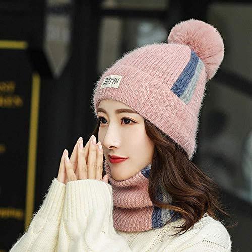 TZYSM Sombrero De Invierno Mujer Banda Interior De