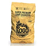Fogo Super Premium Oak Restaurant All-Natural Hardwood Lump Charcoal for Grilling and Smoking, 17.6...