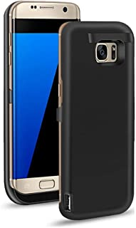 BIGFOX Samsung Galaxy S7 Battery Case - 6500mAh Ultra Slim Rechargeable Extended Battery Charging Case Samsung Galaxy S7, Backup Charger Case Power Bank Case Kickstand & 4 LED Indicator Light