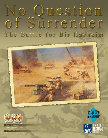 MMP Multi-Man Publishing MMP: No Question of Surrender Board Game by