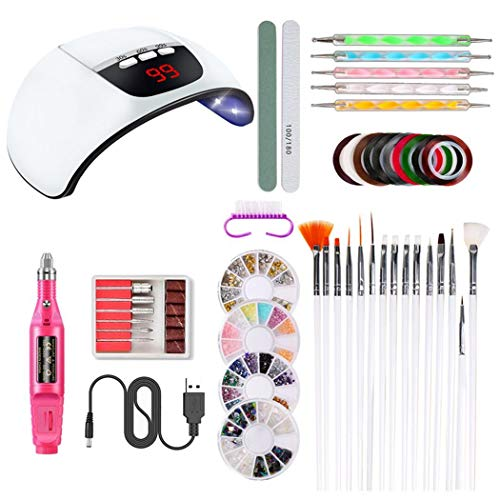 OYTRO Nail Lamp Polisher Nail File Painted Pen Nail Decoration Set Sets & Kits