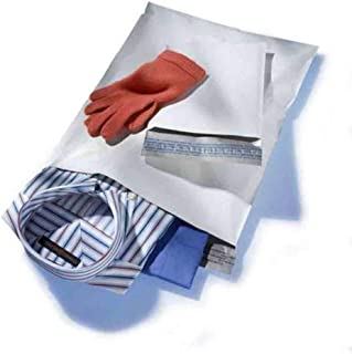 """500 14.5"""" X 19"""" White Poly Mailers Shipping Mailing Envelopes Bags 2.5 Mil Thick 500 / Case"""